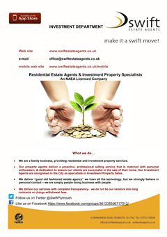 Swift Estate Agents - Investment Brochure
